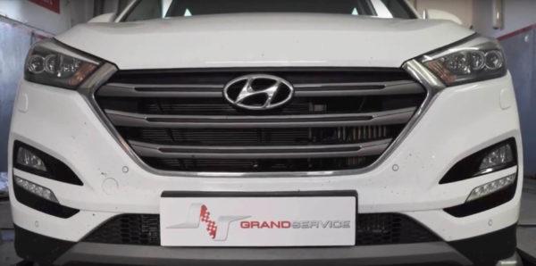 Chip tuning crossovera Hyundai Tucson z silnikiem 1.7 CRD