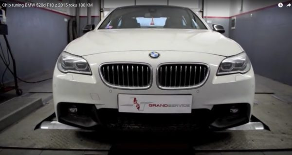 chip tuning bmw 520d f10 o mocy 180 KM