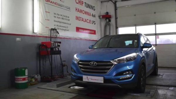 Chip tuning - Hyundai Tuscon